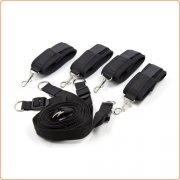 Bed Bindings Restraint Kit - Sponge Cuffs
