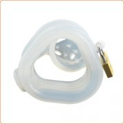 Birdlocked Pico MCD Male Chastity - Clear