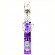 Butterfly Clit Stimulation Jelly Vibrator