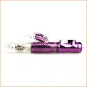 Butterfly Telescopic Rabbit Vibrator