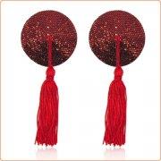 Cobweb Sequins Nipple Pasties