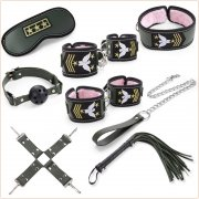 Cosplay Bondage Kit - 8 Pcs