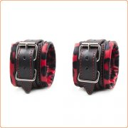 Deluxe Pin Buckle Leather Wrist / Ankle Cuffs
