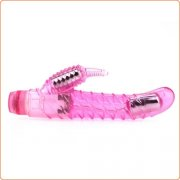 Dual Stimulator Curve Seduction Jelly Vibrator