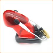 Electrified Locking Cock Chastity - Red