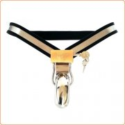 Enforcer Steel Male Chastity Belt