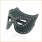 Eye Mask with Rivets Detail