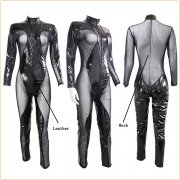 Faux Leather Cosplay Costume Bodysuit