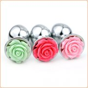 Flower Stainless Steel Butt Plug