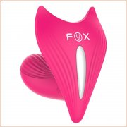Fox Hide Strap-on G-spot Vibrator