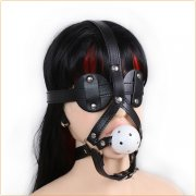 Gag with Blinder Eyes Detachable