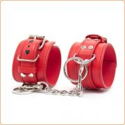 Heart Decorated Bondage Cuffs