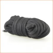 Japanese Cotton Rope in Black - 10M