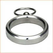Lead Me Stainless Steel Cock Ring