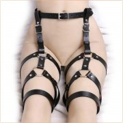 Leather Leg Harness Garter Belt