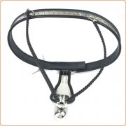 Male Adjustable Stainless Steel Chastity Belt