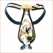 Male Chastity Belt with Cock Cage
