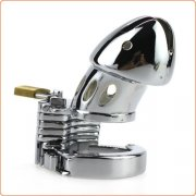 Male Chastity Device Adjustable 5 Size Ring