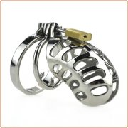 Male Chastity Device Lock Stainless Steel Cock Cage
