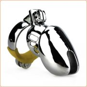 Male Locking Chastity Cock Cage Device
