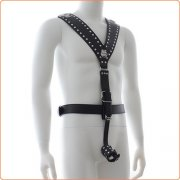 Men's Body Harness with Cock ring