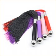 Metal Handle With Silicone Tassel Whip