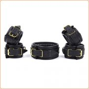 Neck Collar And Cuffs Bondage Kit