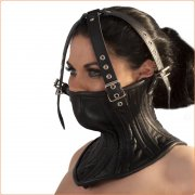 Neck Corset Lace Closure with Head Harness