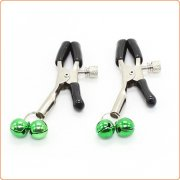 Nipple Clamps with Colorful Bell