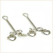 Nipple Tit Clamps with Heart