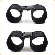Nylon Cuffs With Release Buckle