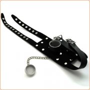 O-Ring Open Mouth Gag with Cover