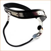 Off Limits Locking Male Steel Chastity Belt