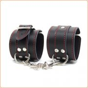 Pin Buckle Red Line Handcuffs / Shackle