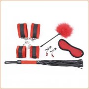 Plush Bondage Kit - 5 Piece