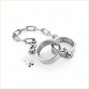 Press Lock Stainless Steel Wrist & Ankle Cuffs