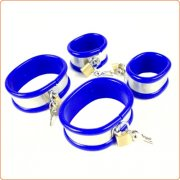 Rapture Stainless Steel Band Wrist Shackles