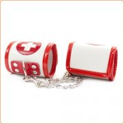 Red Cross Cuffs Wrist Restraints