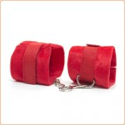 Red Fun Villus Handcuffs