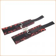 Red Leopard Line Bondage Kit - 6 Pcs