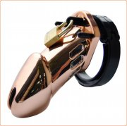 Rose Gold Male Chastity Cage CB6000 CB6000S
