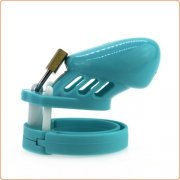 Silicone CB6000s Chastity Devices In Blue