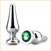 Stainless Steel Heavy Anal Plug