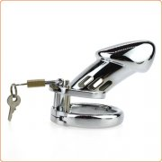 Steel Male Padlock CB6000 Chastity Cage Device - Big