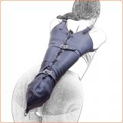 Strict Leather Premium Armbinders - Fastens