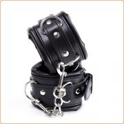 Thicken Black Wrist / Ankle Cuffs