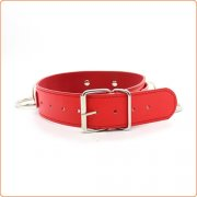 Three O Ring Collar With Chain