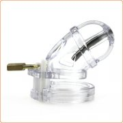 UCB-8000 Chastity Device with Urethral Tube