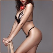 Hot Wild Leopard Hollowed-out Bikini One-piece Suit