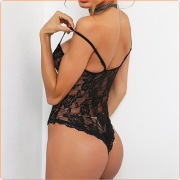 Hot Selling Strappy Lace Jampsuit One-piece Suit